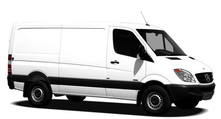 Solfilm till Mercedes Sprinter Van (skåpbil). Solfilm till alla Mercedes bilar från EVOFILM®