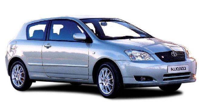 Solfilm till Toyota Corolla 3-dörrar. Solfilm till alla Toyota bilar från EVOFILM®.