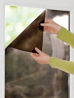 Solskyddsfilm fönster