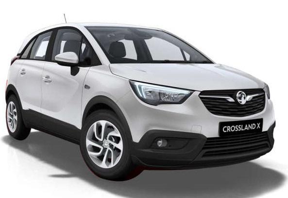 Solfilm till Opel Crossland. Färdigskuren solfilm till alla Opel bilar.