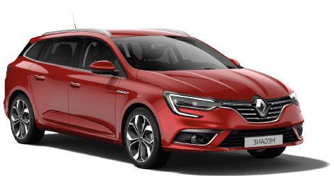 Solfilm till Renault Megane Sport Tourer. Färdigskuren solfilm till alla Renault bilar.