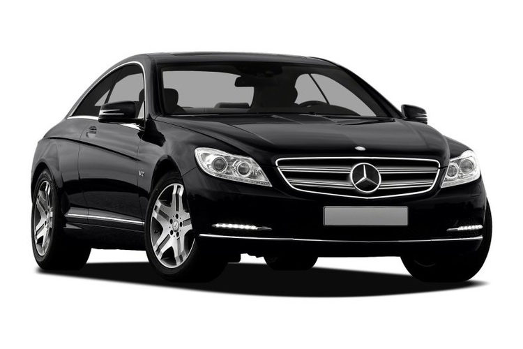 Solfilm till Mercedes CL. Färdigskuren solfilm till alla Mercedes bilar