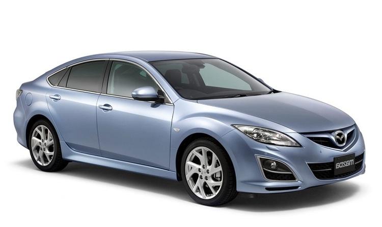 Solfilm till Mazda 6 combi coupé. Färdigskuren solfilm till alla Mazda bilar.