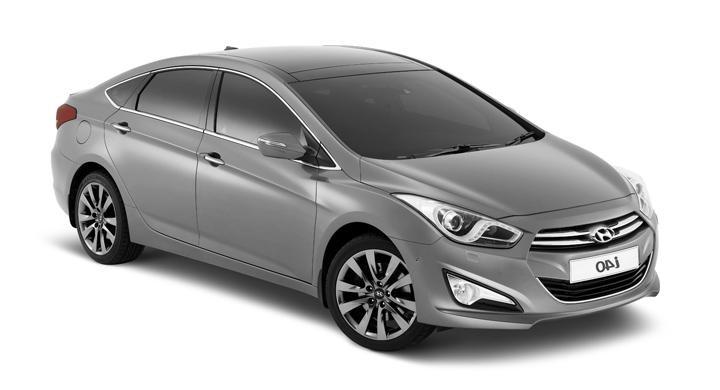 Solfilm till Hyundai i40 sedan. Färdigskuren solfilm till alla Hyundai bilar från EVOFILM®