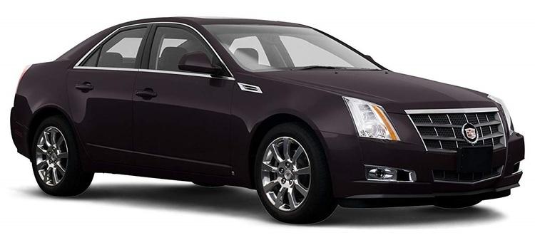 Solfilm till Cadillac CTS Sedan. Färdigskuren solfilm till alla Cadillac bilar.