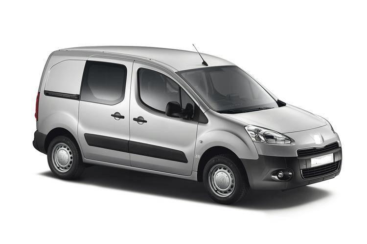 Solfilm till Citroën Berlingo Van.