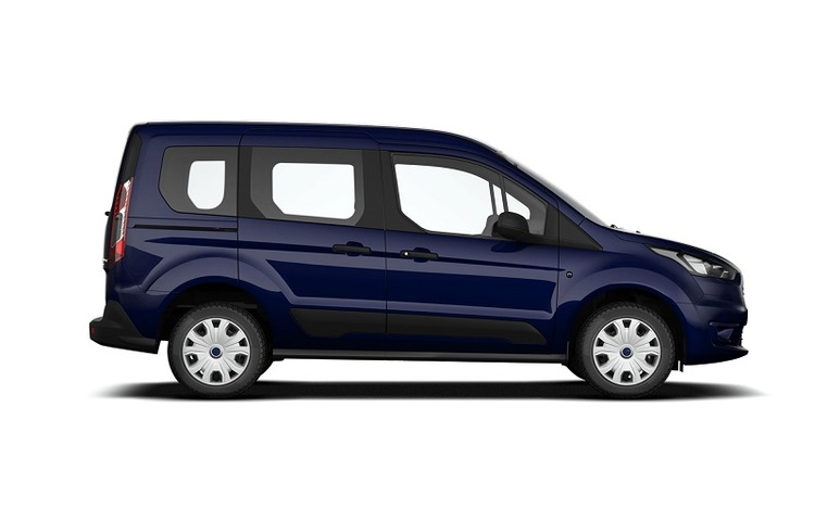 Solfilm till Ford Transit Connect kombi L1
