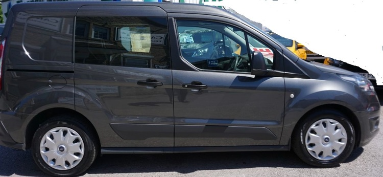 Solfilm till Ford Transit Connect Crew L1