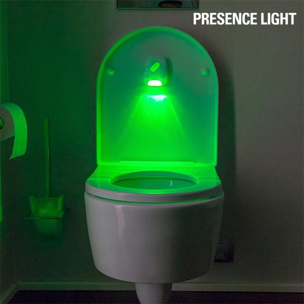 Toalettbelysning med sensor - Presence Light