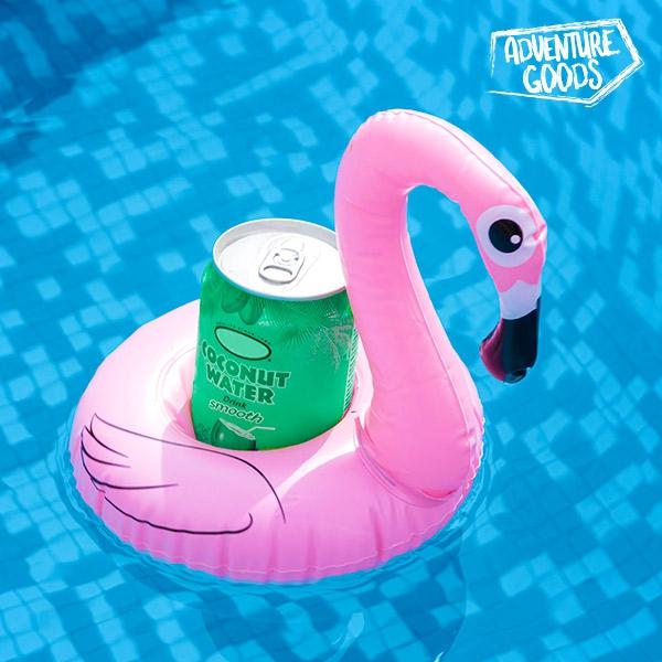 Uppblåsbar Drinkhållare Flamingo
