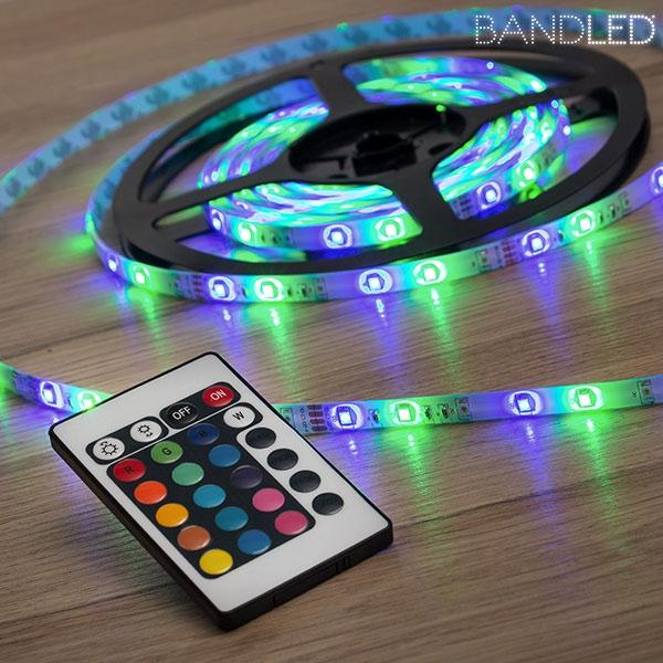 Flerfärgad LED-slinga