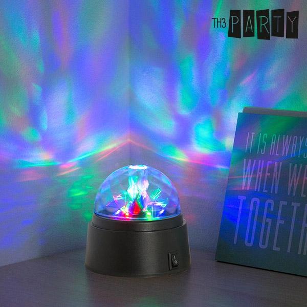Stående Roterande Discolampa LED