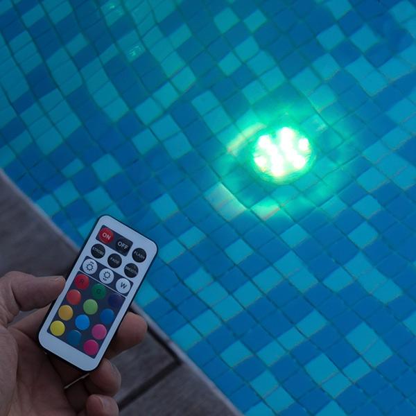 Vattenlampa LED RGB