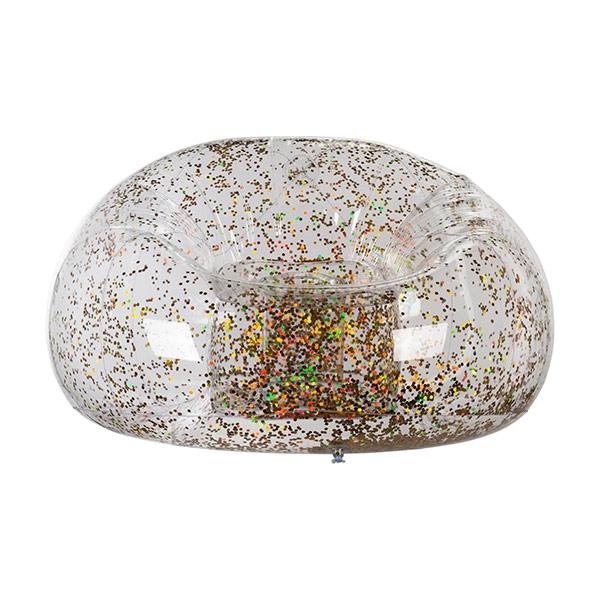 Uppblåsbar Fåtölj med Glitter