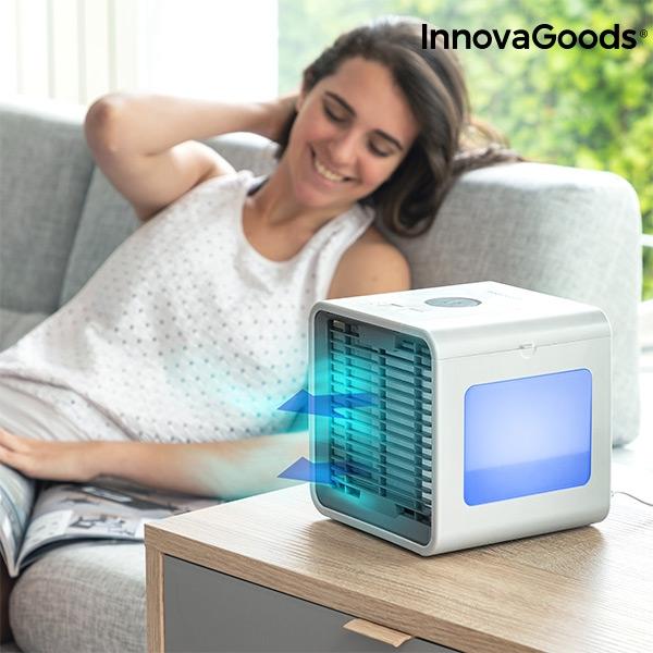 Freezy Cube Luftkylare med LED