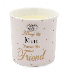 Mum candle