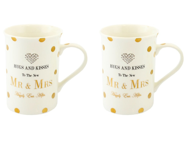 Mr & Mrs mugg-set