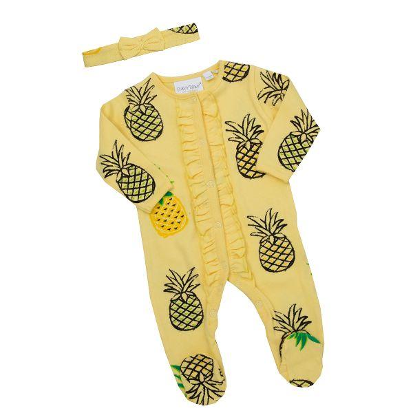 Sparkdräkt med hårband - Ananas