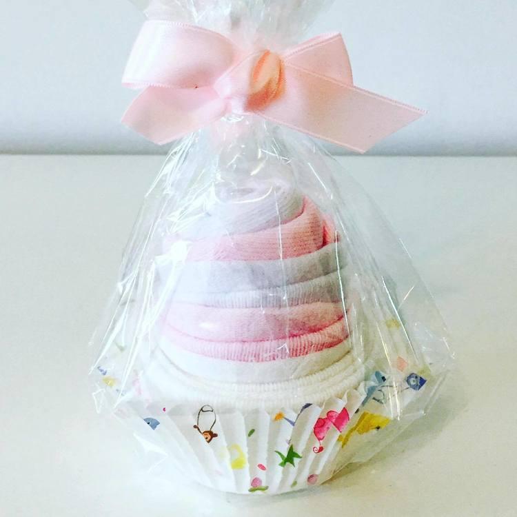 Babysock Cupcake Rosa