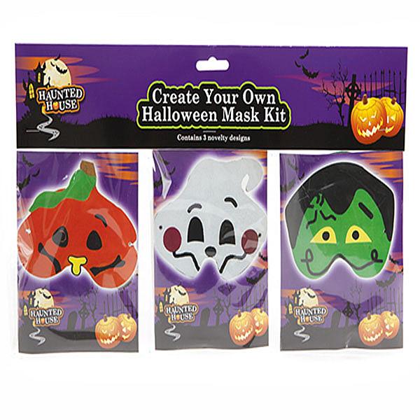 Halloween Masker DIY