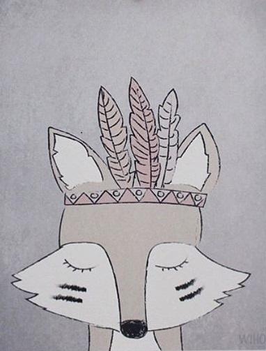 Räven Rai Poster