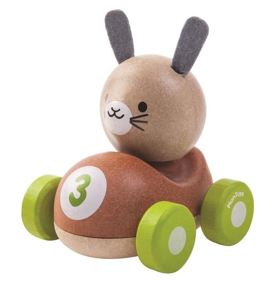 Kanin i bil, Bunny Racer - PlanToys
