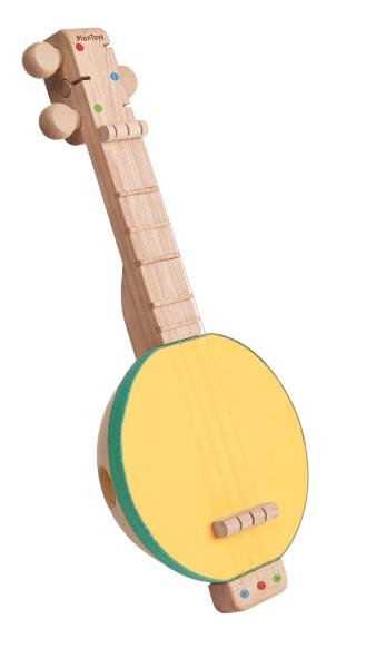 Ekologisk Banjolele/Gitarr i trä - PlanToys