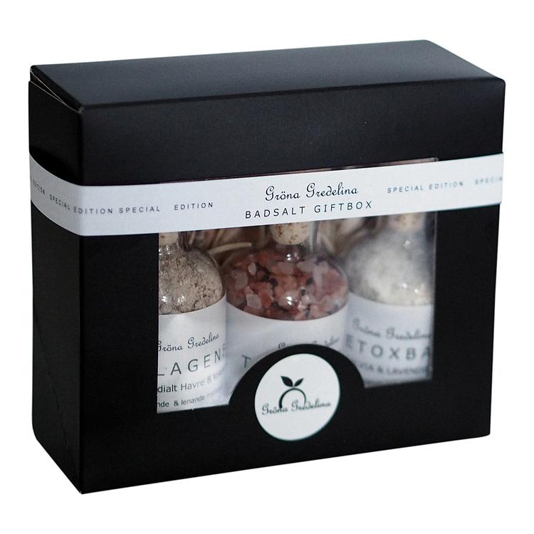 Ekologiskt badsalt - Presentbox