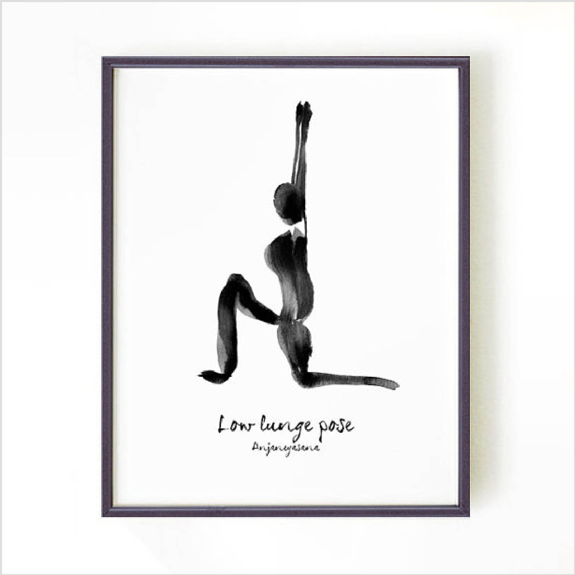 Yoga Print - Low Lunge (KOPIA)