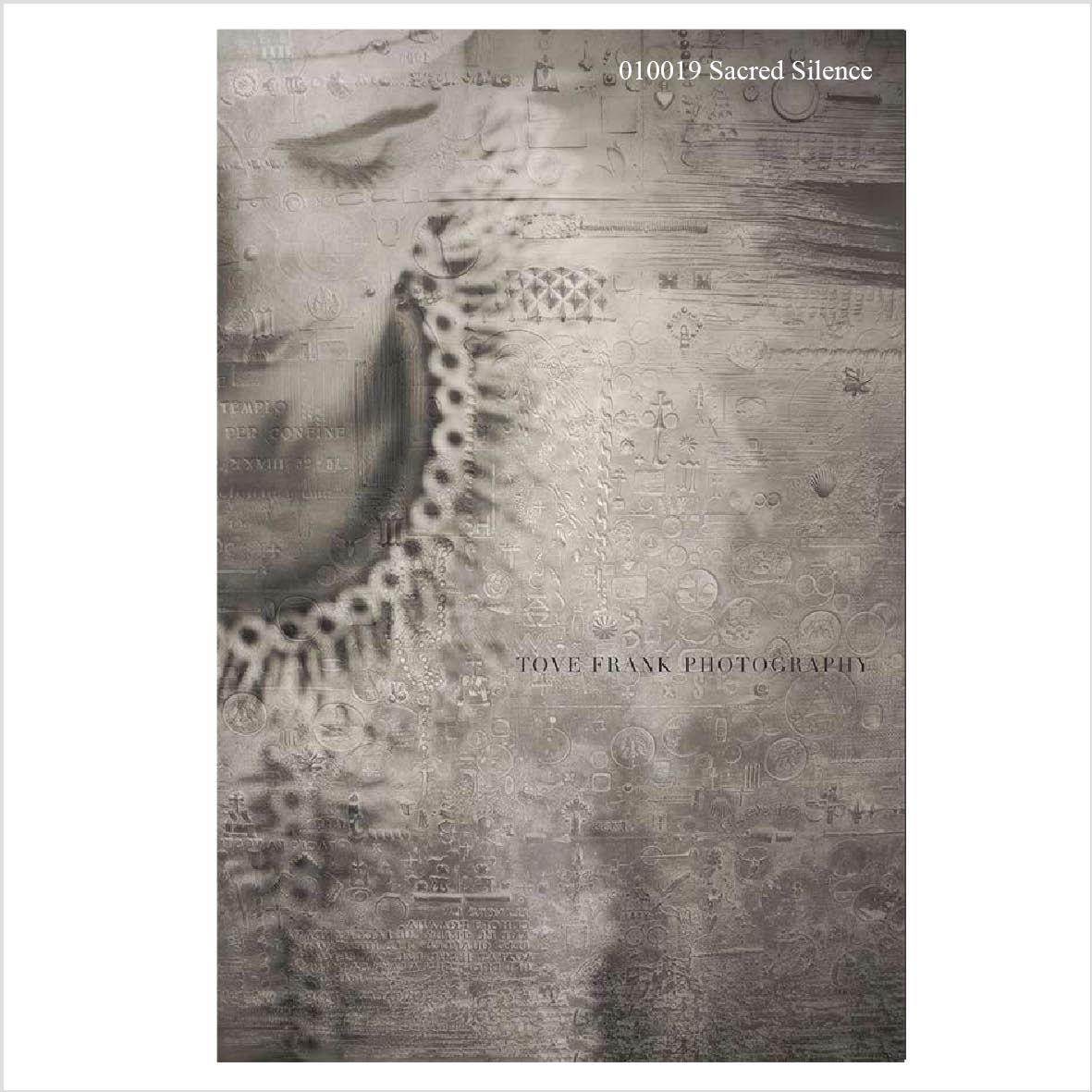 Poster Tove Frank - Sacred Silence