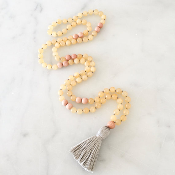 Yogahalsband Malas från The Beautiful Nomad - Cleanse