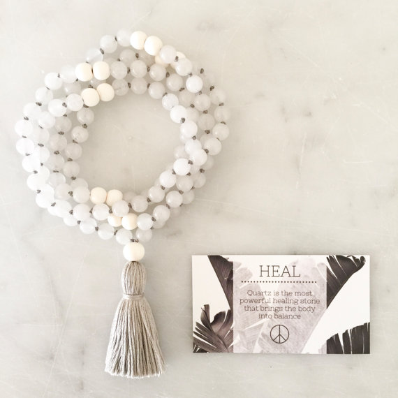 Yogahalsband Malas från The Beautiful Nomad - Heal