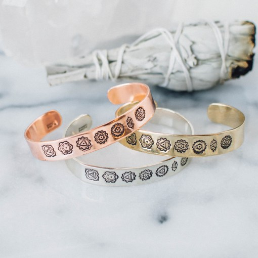 Armband i koppar från Zenned Out - Chackra
