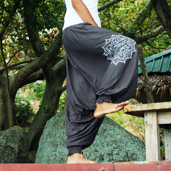 Bohemian Harem Mandala - Grå