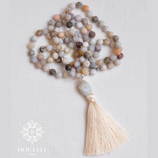Mala halsband Bamboo från Nouelle