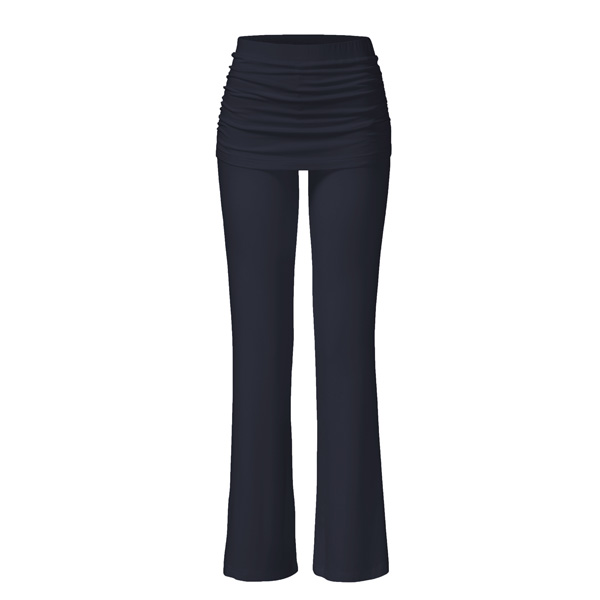 Yogabyxor Pants Skirt från Curare Yogawear - black