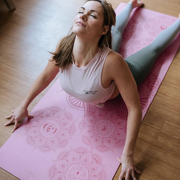 Yogamatta Radha Chakra Pink från OHMat