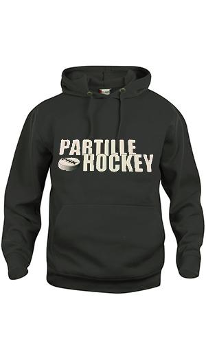 Partille Hockey Hood JR Svart