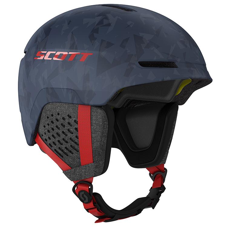 Scott Helmet Track Plus Blå
