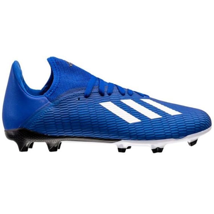 Adidas X19.3 FG/AG Junior Blå/Vit