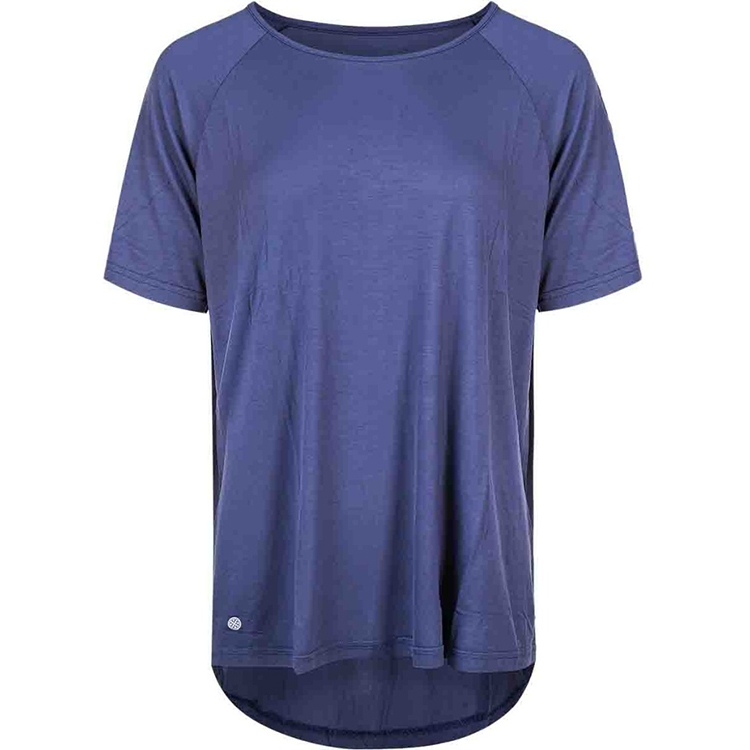 Athlecia Suriga Loose Fit Tee W Blå