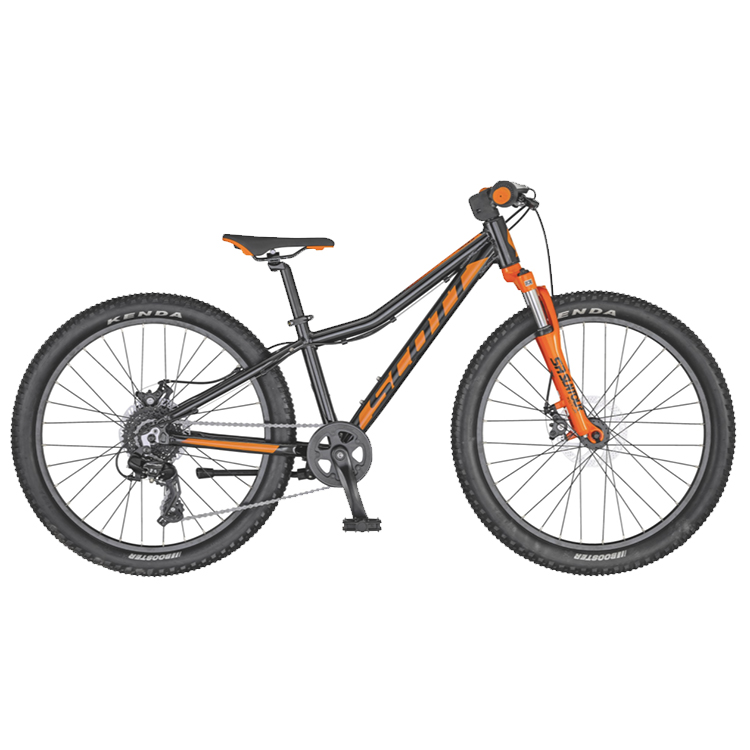 "Scott Scale 24"" Disc Svart/Orange"