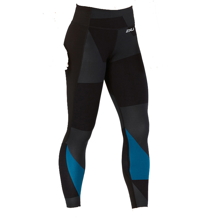 2XU Fitness Compression Mid-Rise Tights W