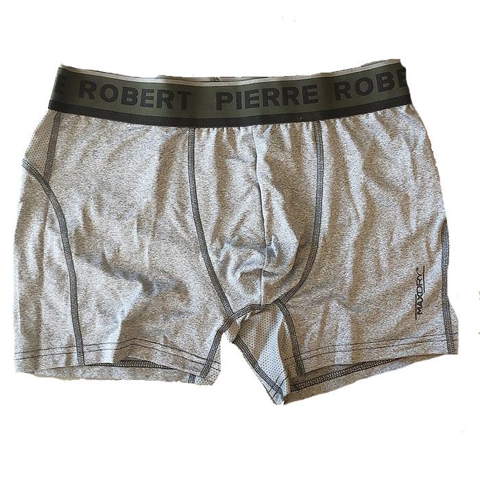 Pierre Robert Sport Boxer Grå / Mörkgrön