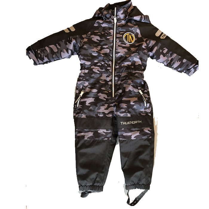 True North Overall Camo Junior