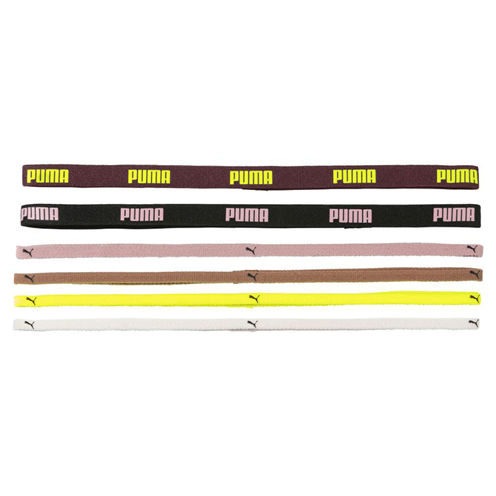 Puma Hårband - Sportbands 6-pack