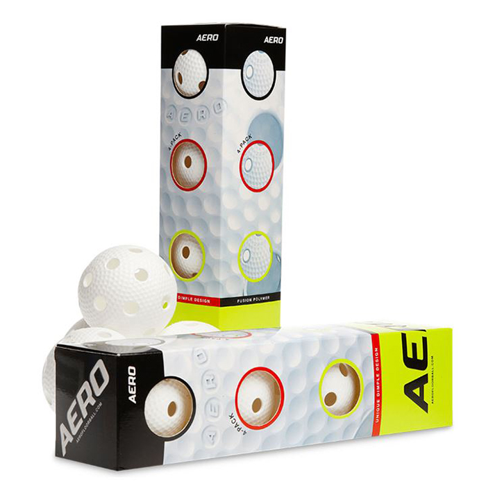 Salming Aero Floorball 4-pack Vit