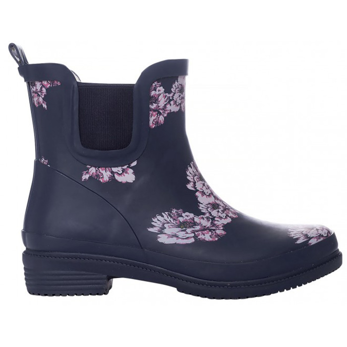 Exani Colour Printed Boot Flower W