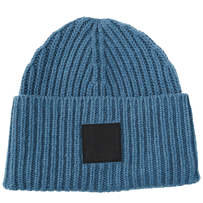 North Bend Chunk Beanie Sr Blue Mud