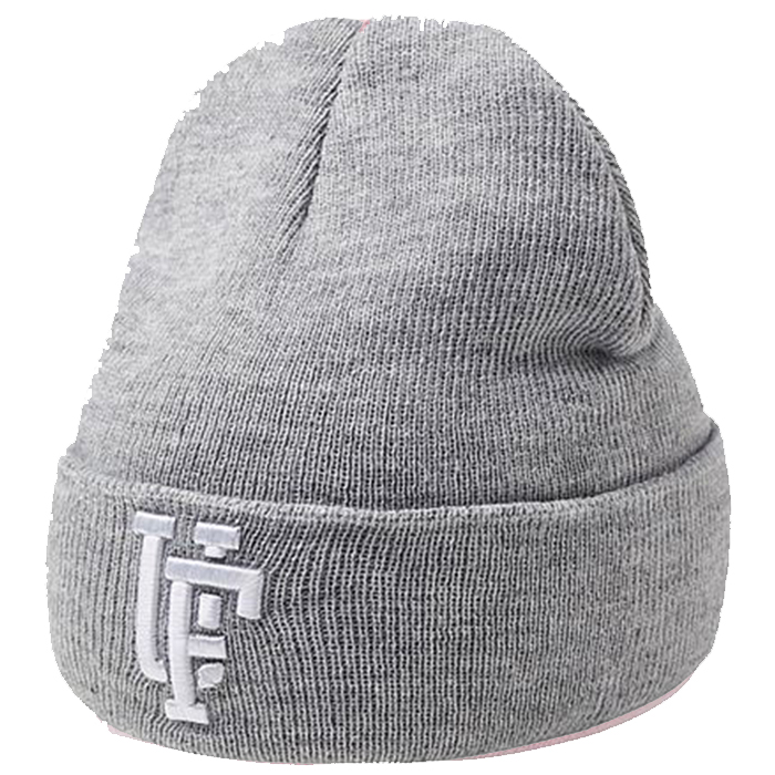 Upfront Spinback Youth Beanie JR Grey